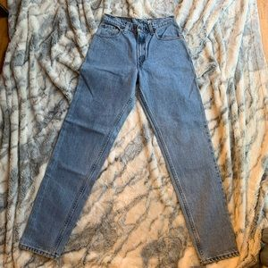 Cat Charity! Vintage Levi's 550 relaxed tapered 7